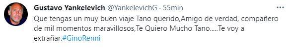 El mensaje de Gustavo Yankelevich