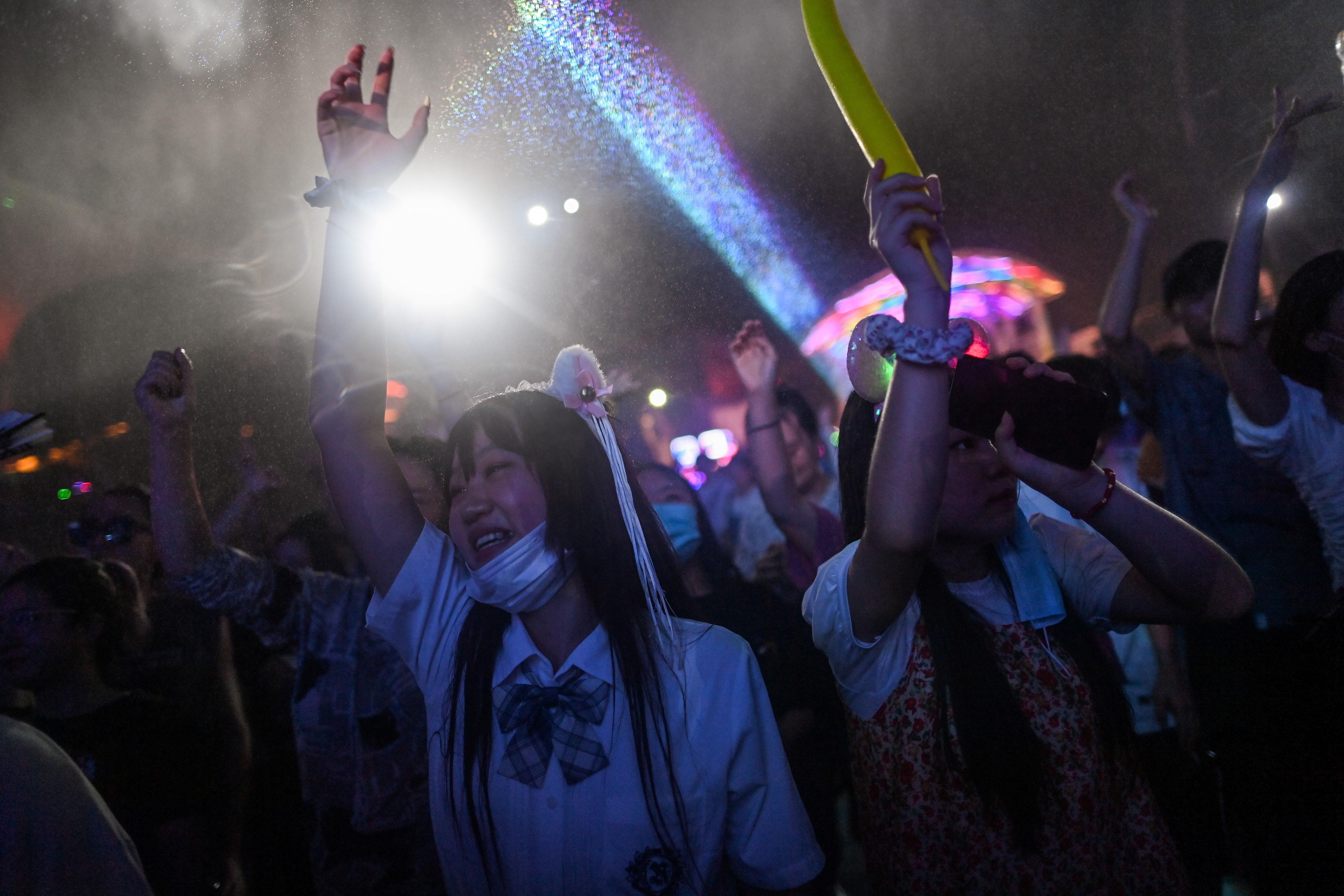 Masivo festival musical, una señal de retorno a la