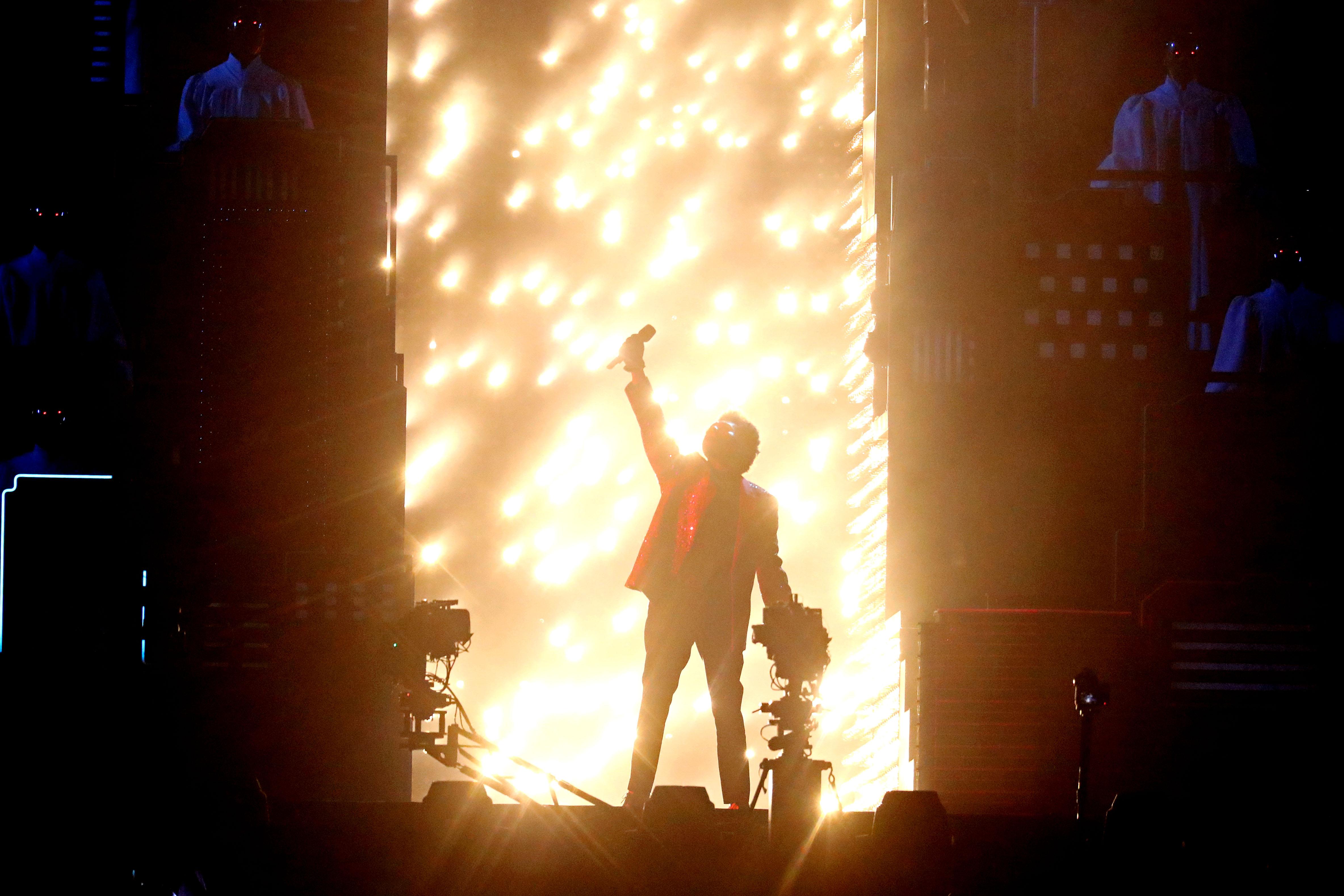 The Weeknd fue la gran estrella del medio tiempo