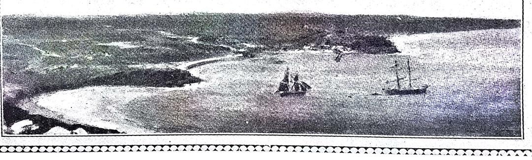 Mar del Plata hacia 1873