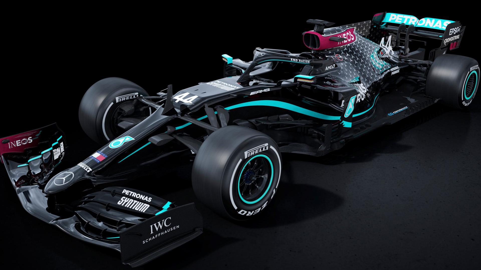 Mercedes Benz Cambiará El Color De Sus Autos De Fórmula 1 Para Promover La Lucha Contra El Racismo Y La Discriminación Infobae