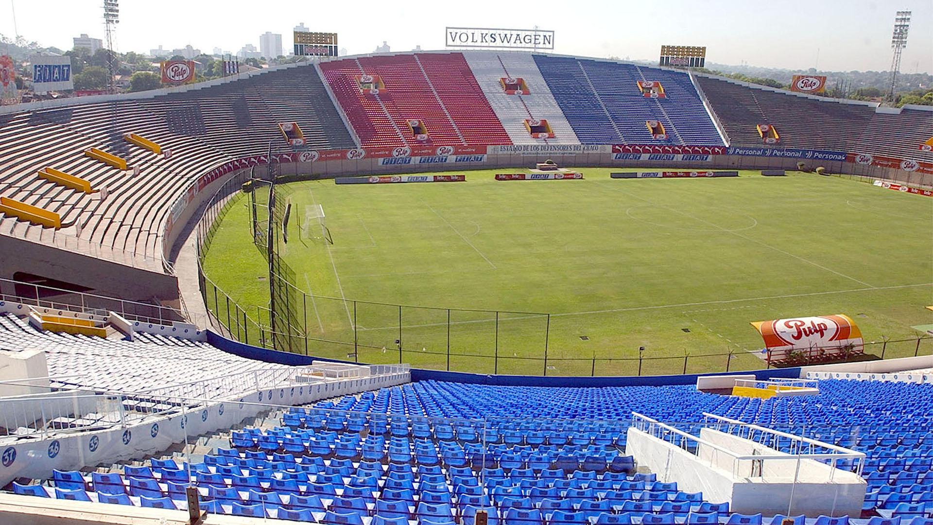 PUESTO 2 - 350 PARTIDOS / Estadio Defensores del Chaco, Paraguay (Daniel Duarte)