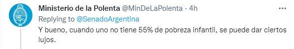 """En Twitter apuntaron contra la dirigencia política esgrimiendo lejanía """"con la realidad"""" y los problemas cotidianos"""