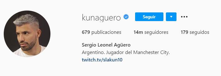 Kun Agüero (Foto: Instagram)