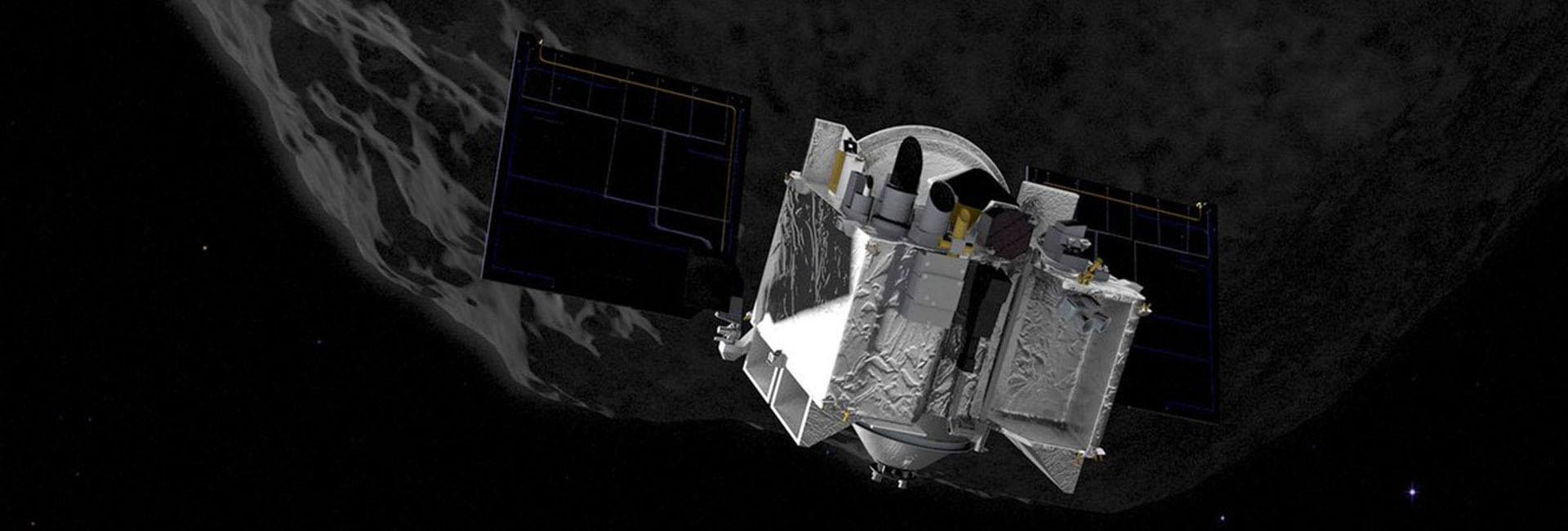 Las características físicas de las rocas de Bennu fue revelada por la nave de la NASA, utilizando datos infrarrojos térmicos para determinar la rugosidad de la superficie (NASA)