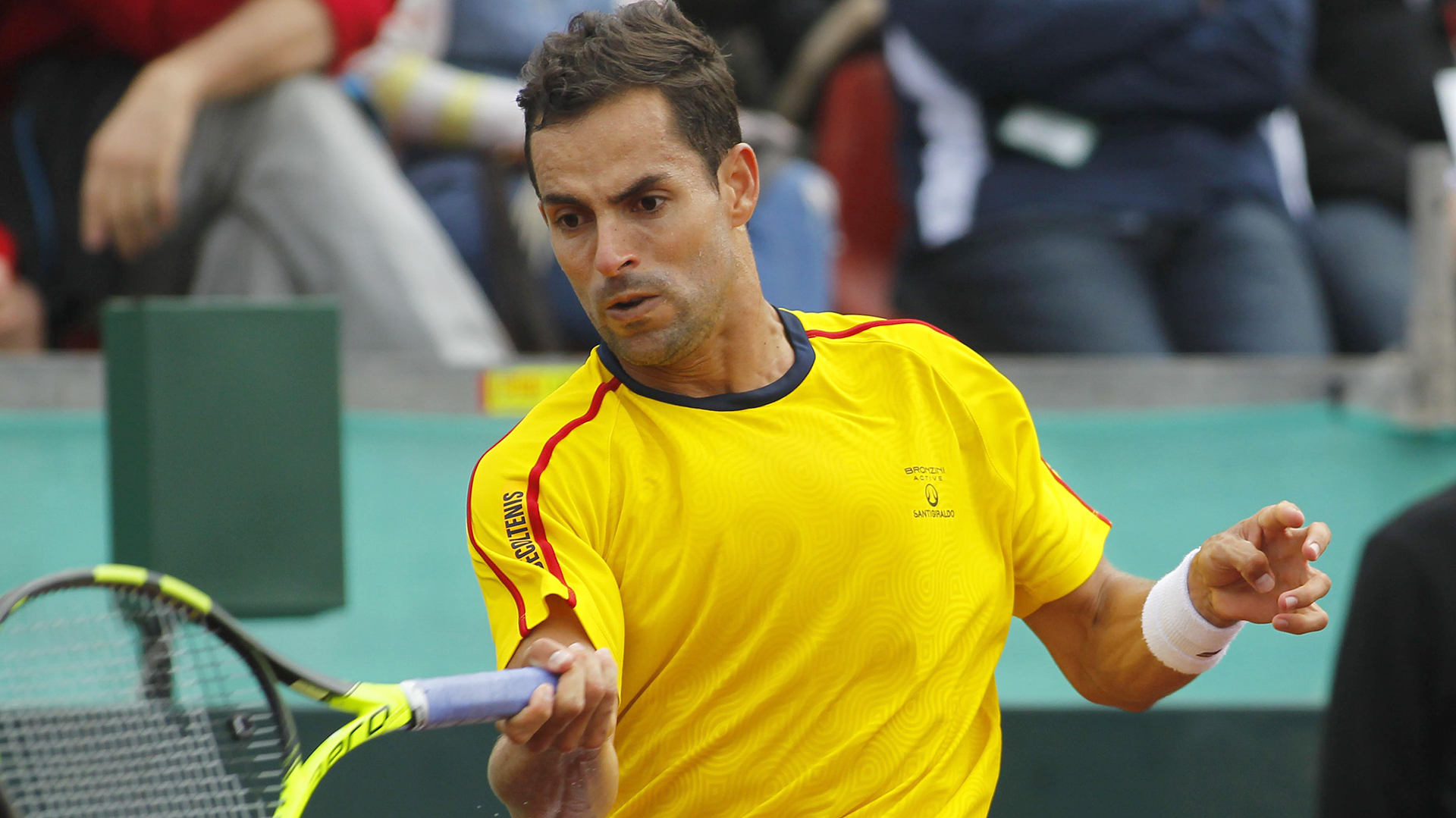 Santiago Giraldo puso punto final a su carrera tenística - Infobae