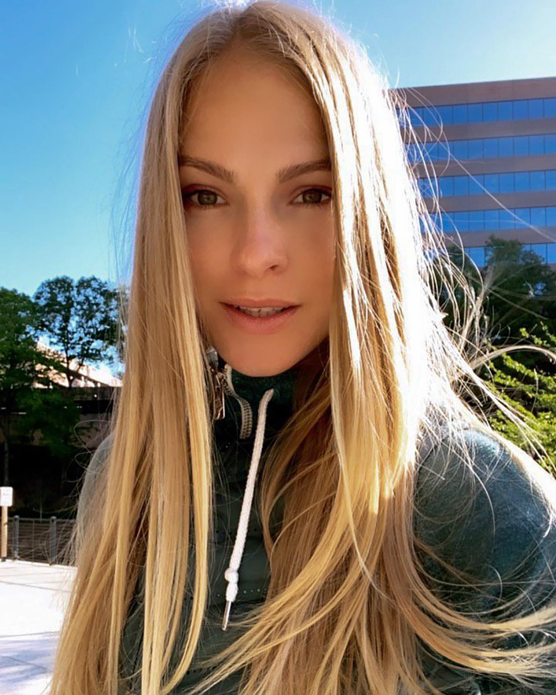 Klishina vive en Estados Unidos (IG: @dariaklishina)