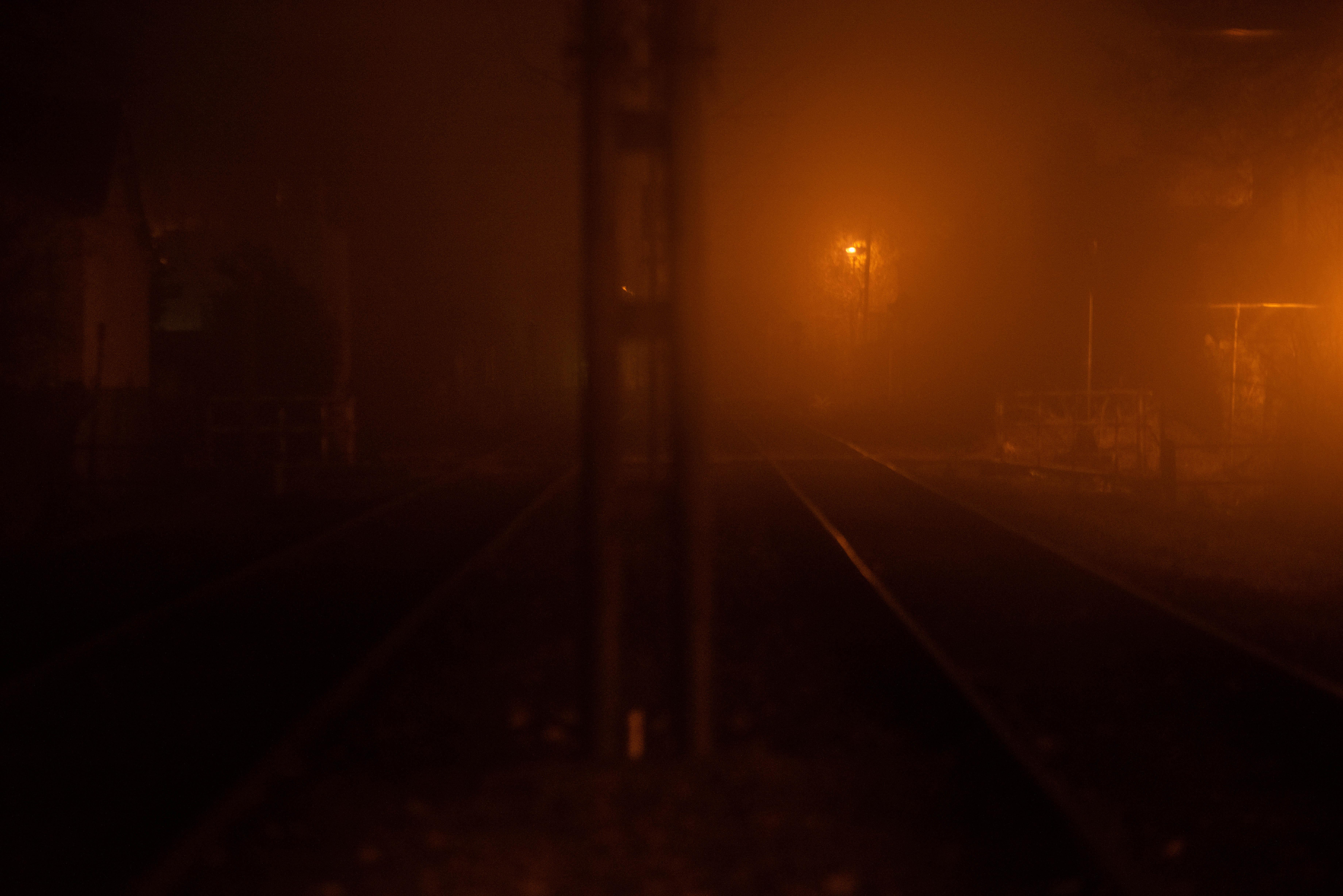 El Servicio Meteorológico previó que la neblina continuará durante las primeras horas del domingo