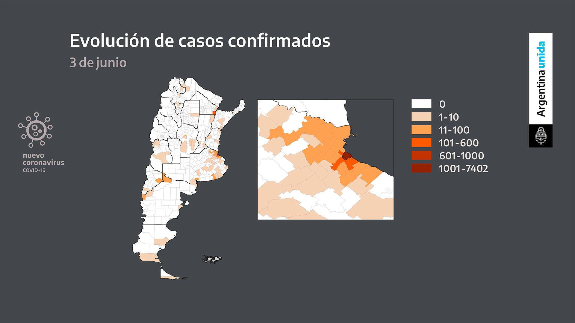 Durante las últimas semanas la tasa de contagios se aceleró marcadamente en los distritos del conurbano bonaerense