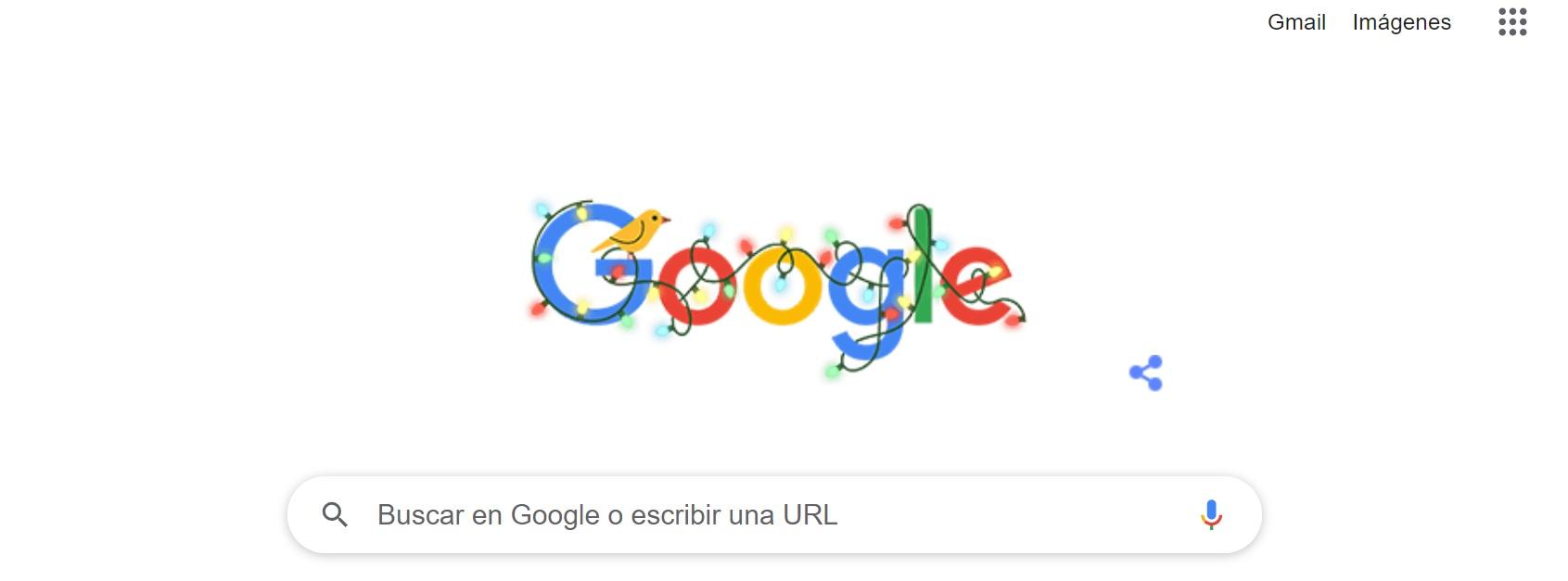 Google publicó un doodle para despedir el año