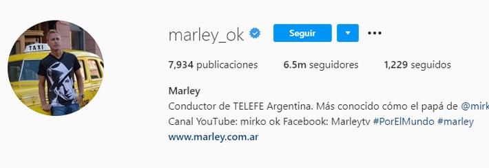 Marley (Foto: Instagram)