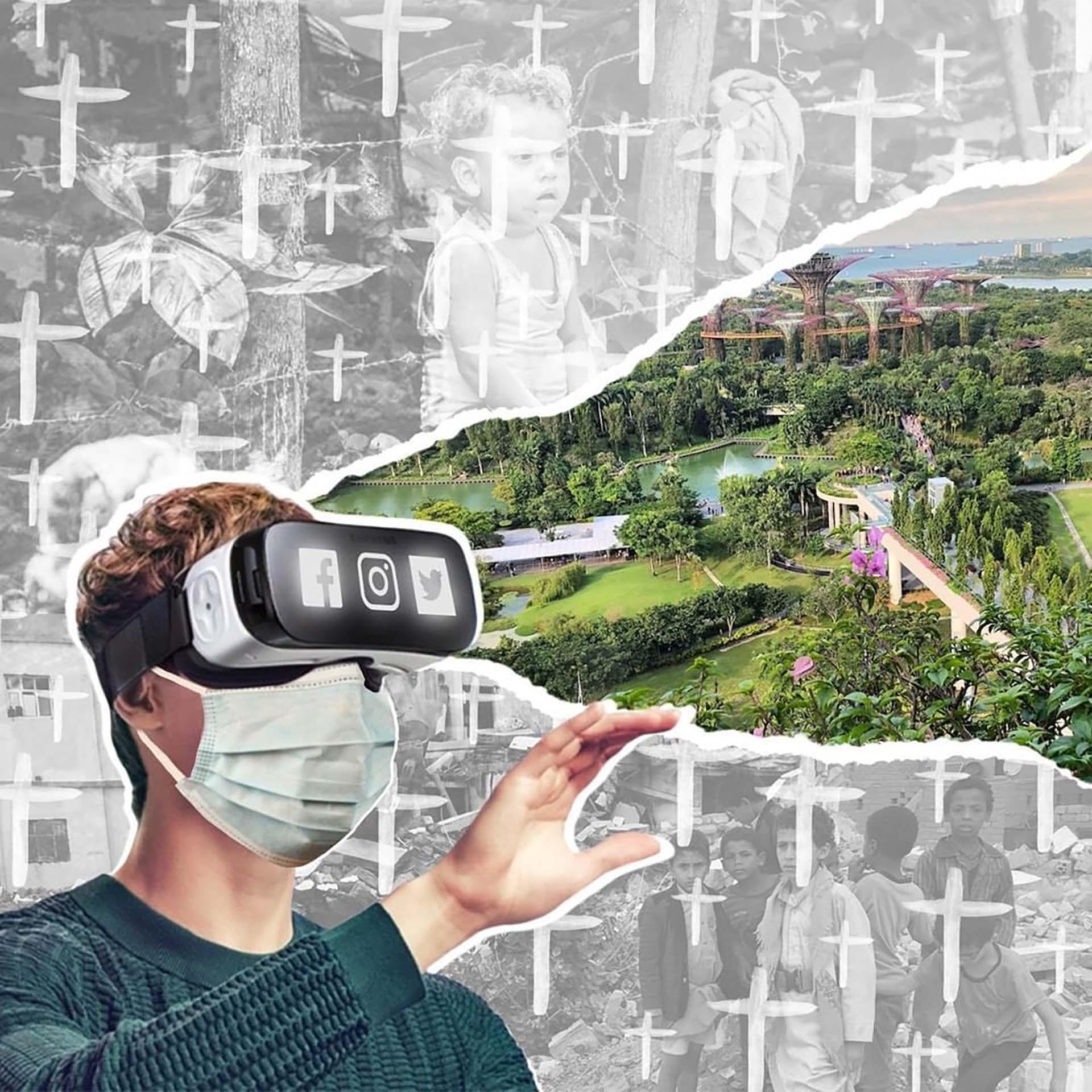 Esta idea surgió a partir de la iniciativa de crear un museo, necesariamente digital, que recogiese todo ese arte de cuarentena o arte covid.