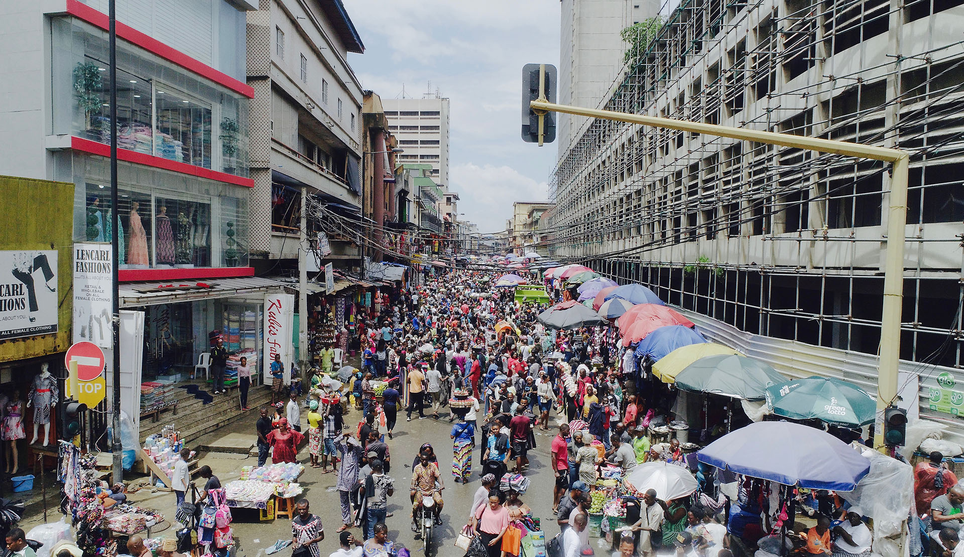 ANTES - Nigeria, una de las naciones más pobladas del mundo, antes del coronavirus (Shutterstock)
