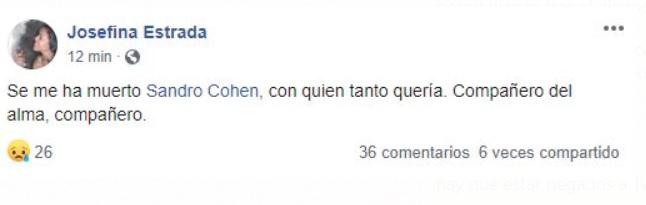 Mensaje de Josefina Estrada