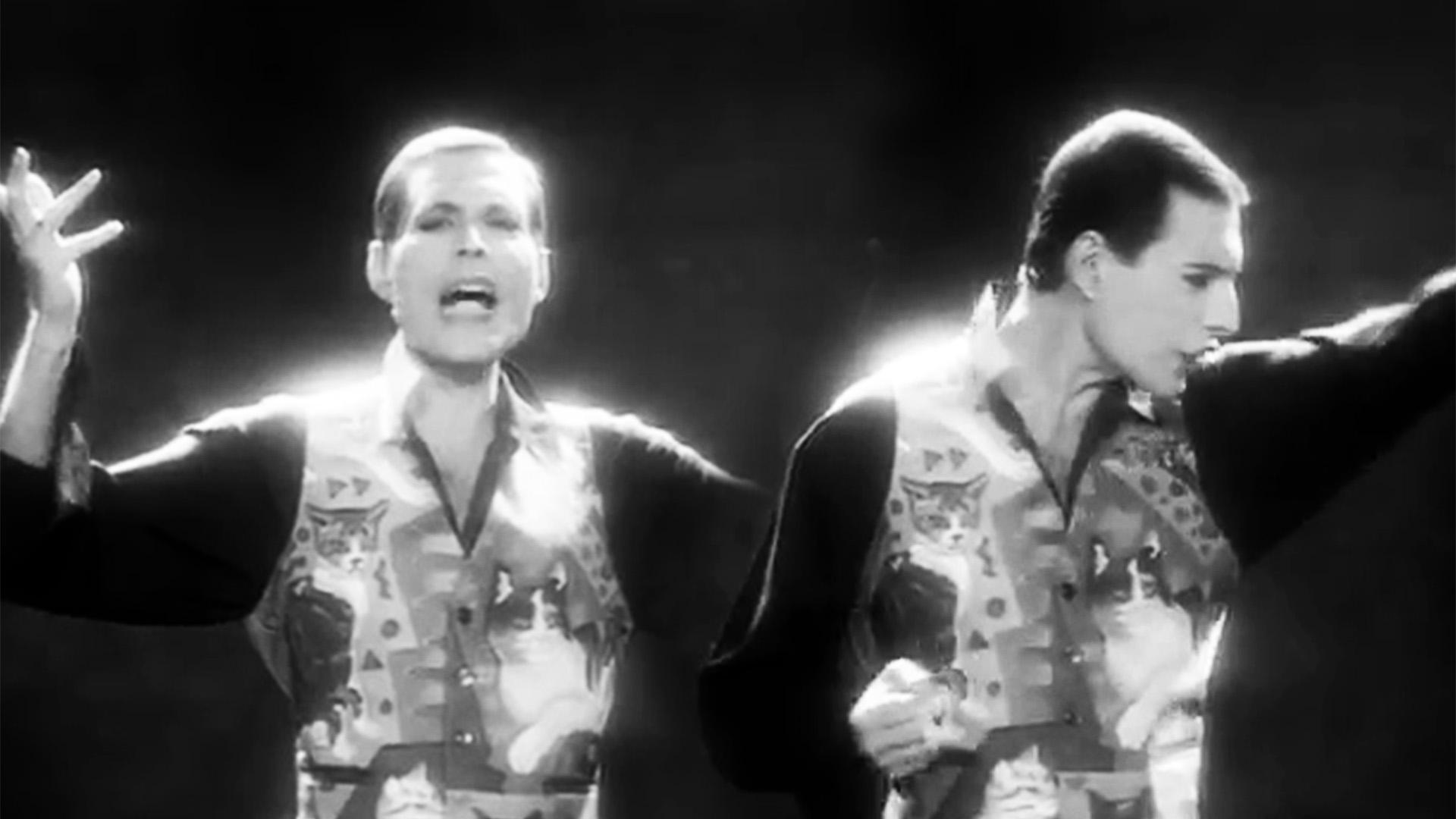 Un videoclip en blanco y negro y una canción emotiva y premonitoria: a 30  años de la última función de Freddie Mercury - Infobae