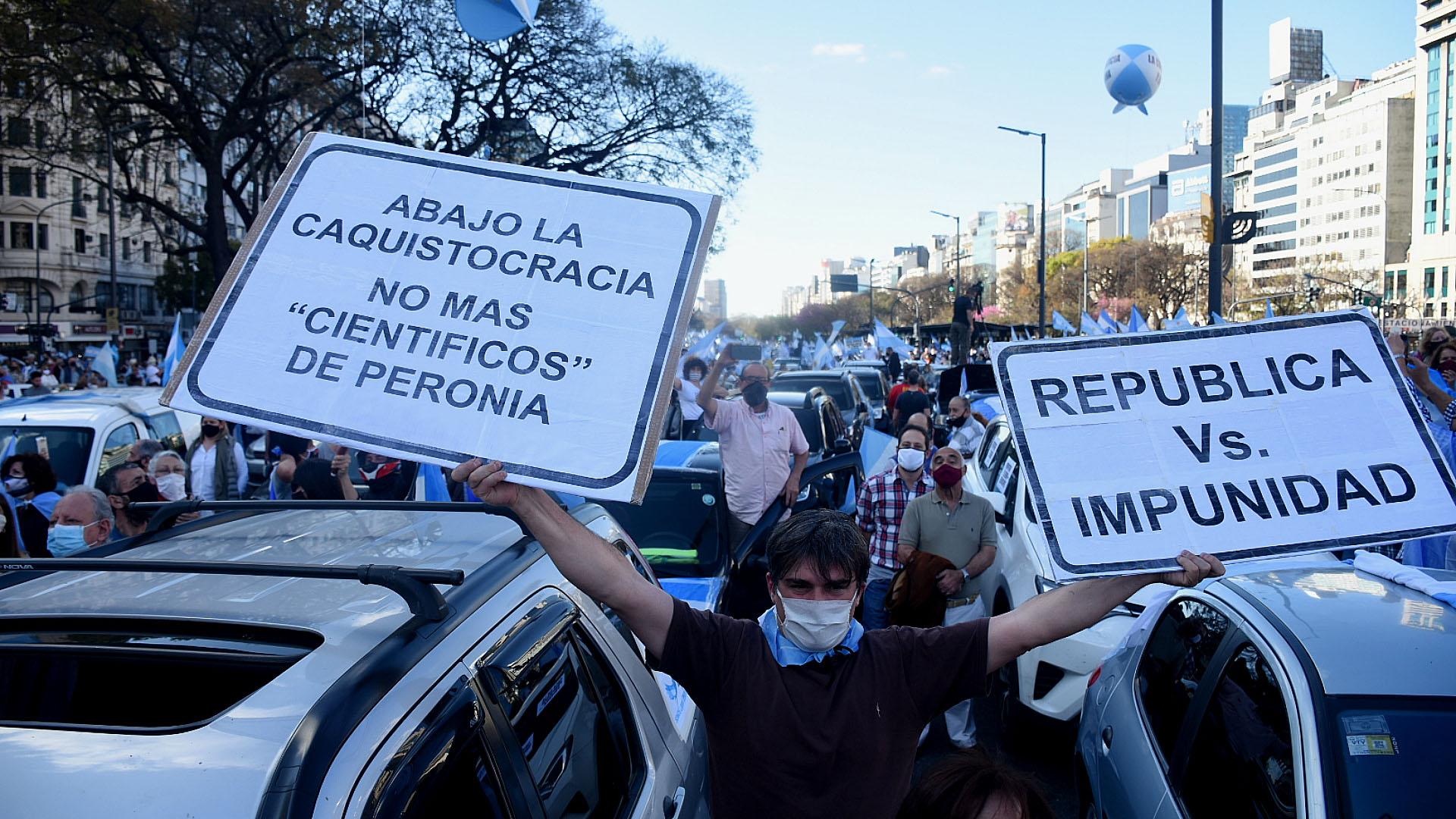Algunos de los integrantes de la oposición apoyaron la marcha en las redes sociales