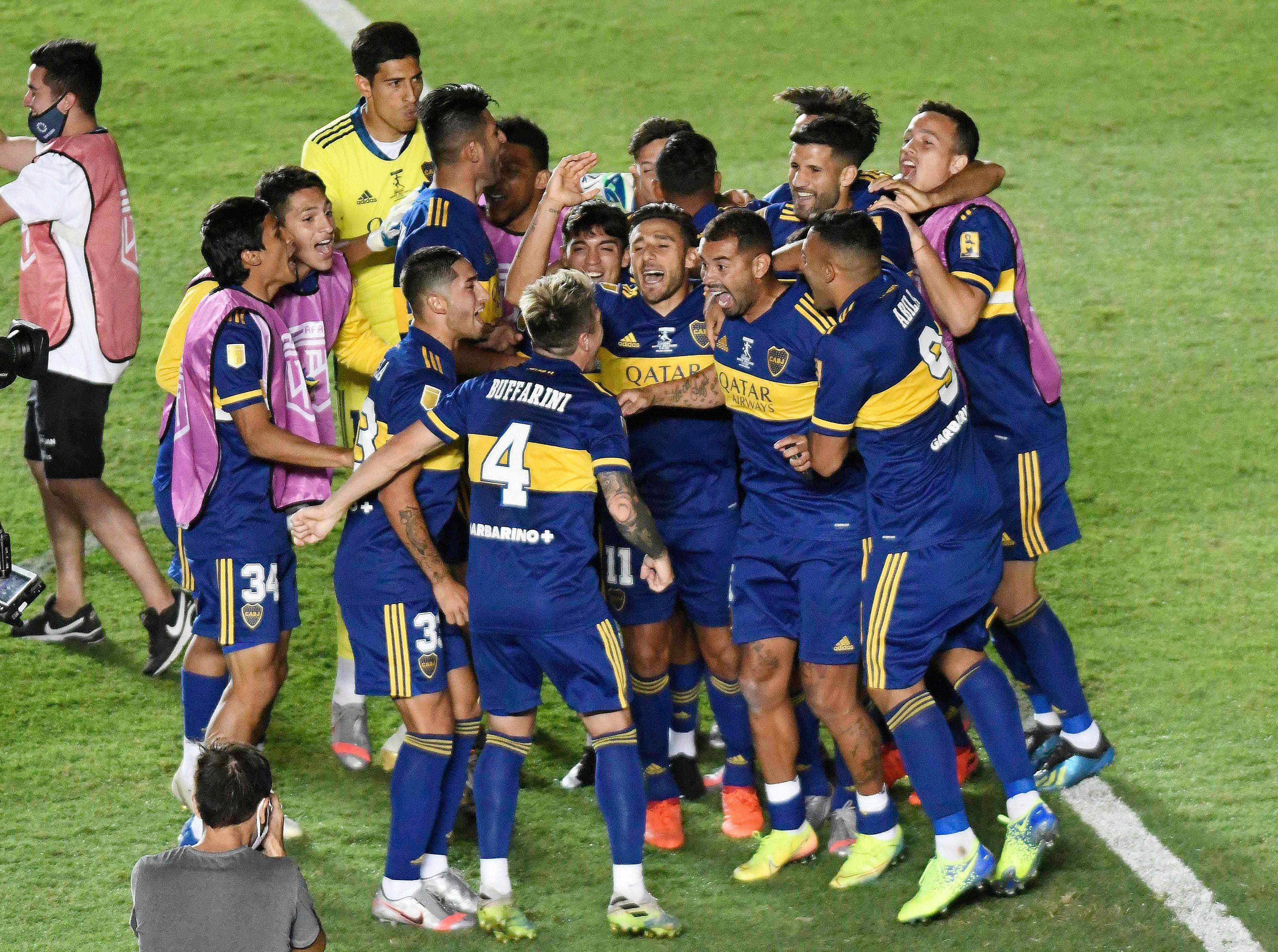 Con este título, Boca superó a Racing (14-13) y se transformó en el equipo que más Copas Nacionales ganó