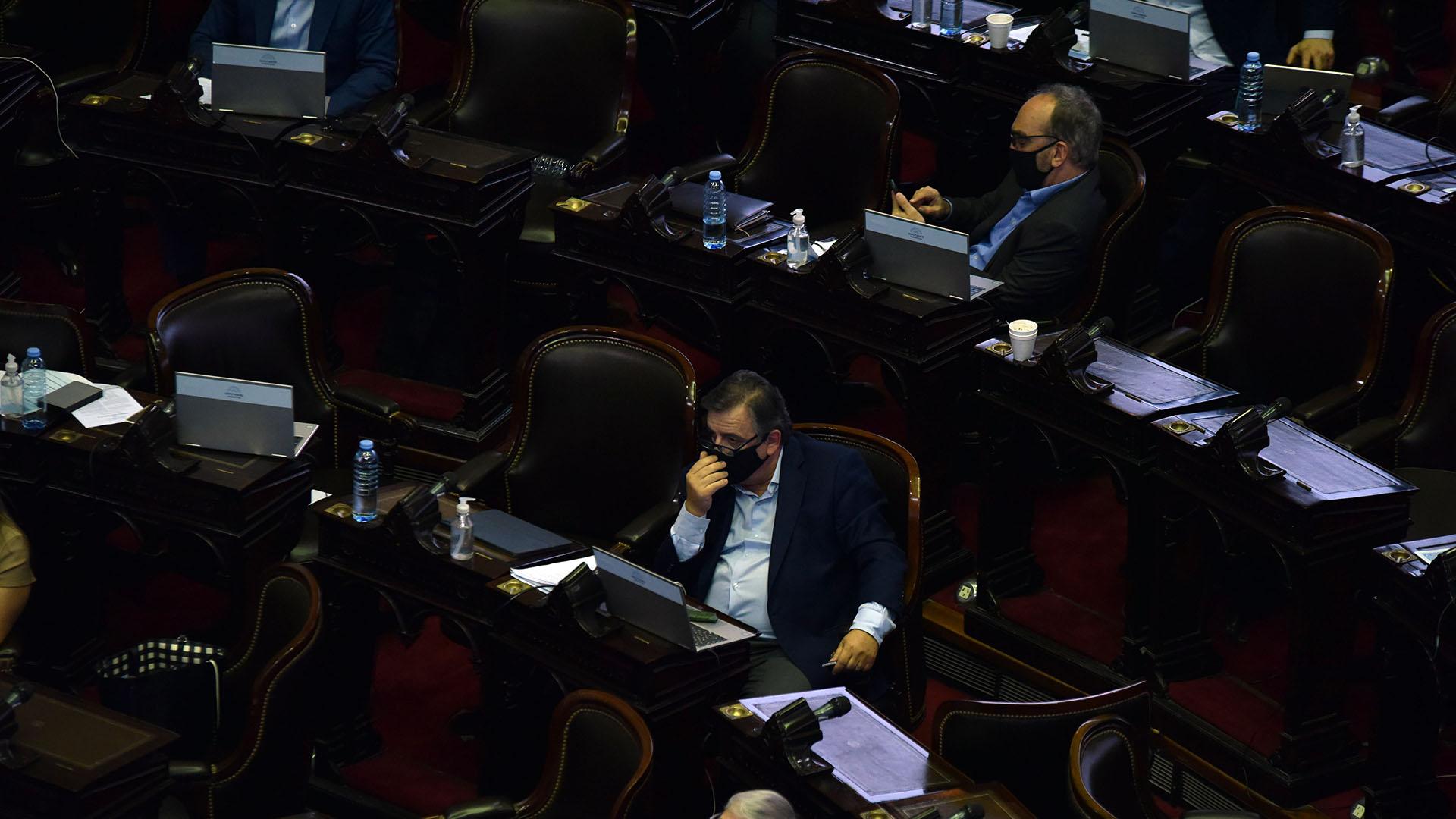 Mario Negri, presidente del bloque de diputados de la Unión Cívica Radical