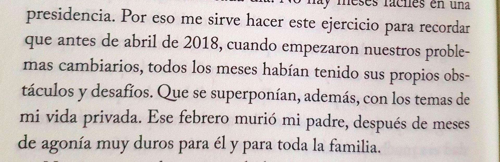"""El sugestivo yerro de Mauricio Macri sobre la muerte de su padre, en """"Primer Tiempo""""."""