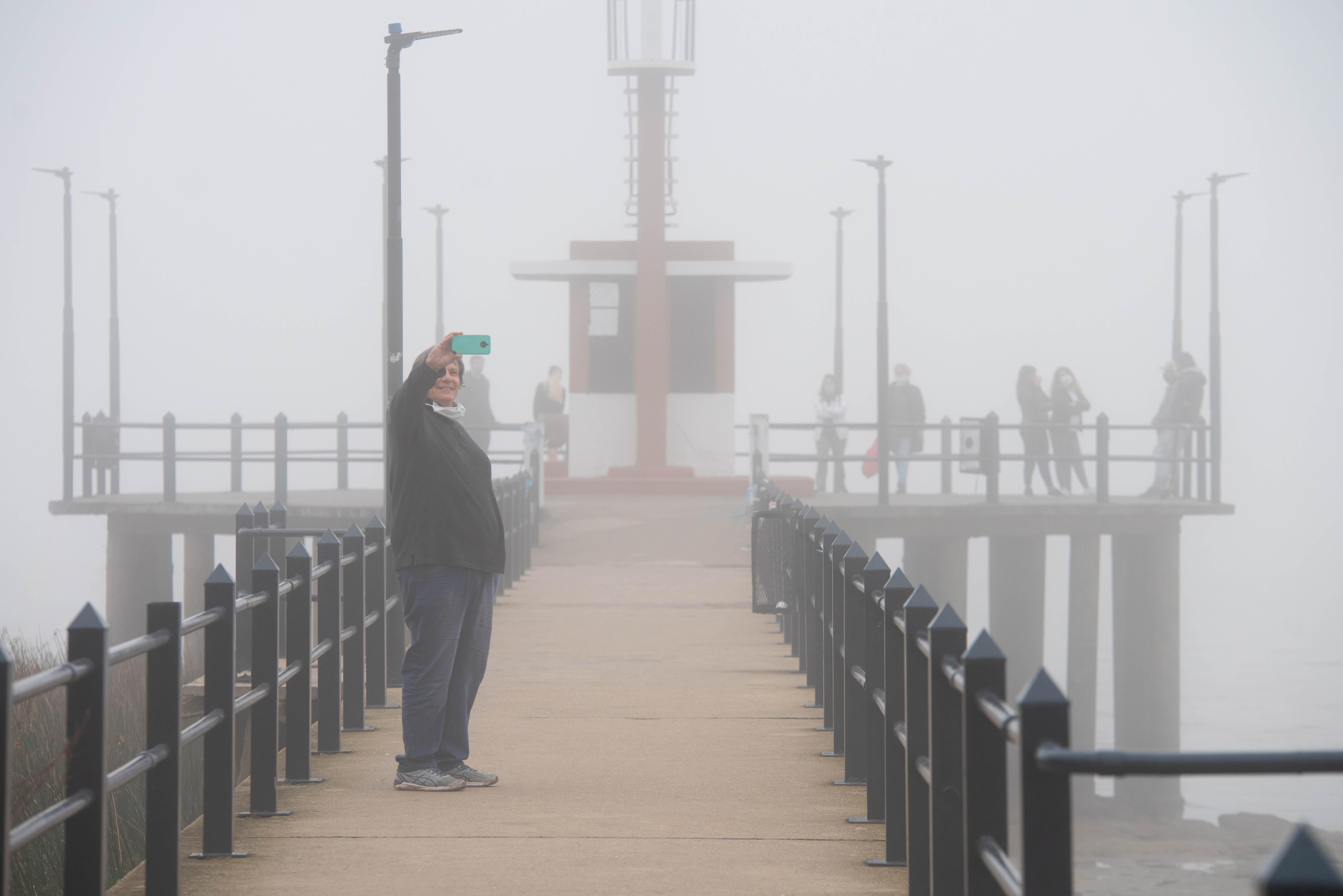 Niebla en la zona norte del conurbano