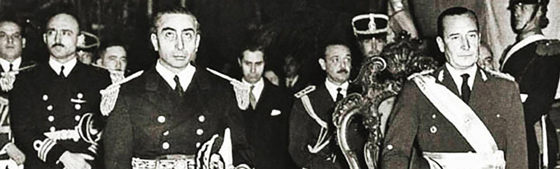 Aramburu y Rojas, tras la destitución de Lonardi