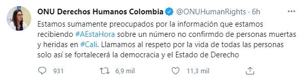 Foto: Twitter Colombia.