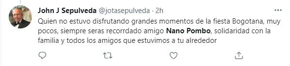 Foto: Twitter @Jotasepulveda.