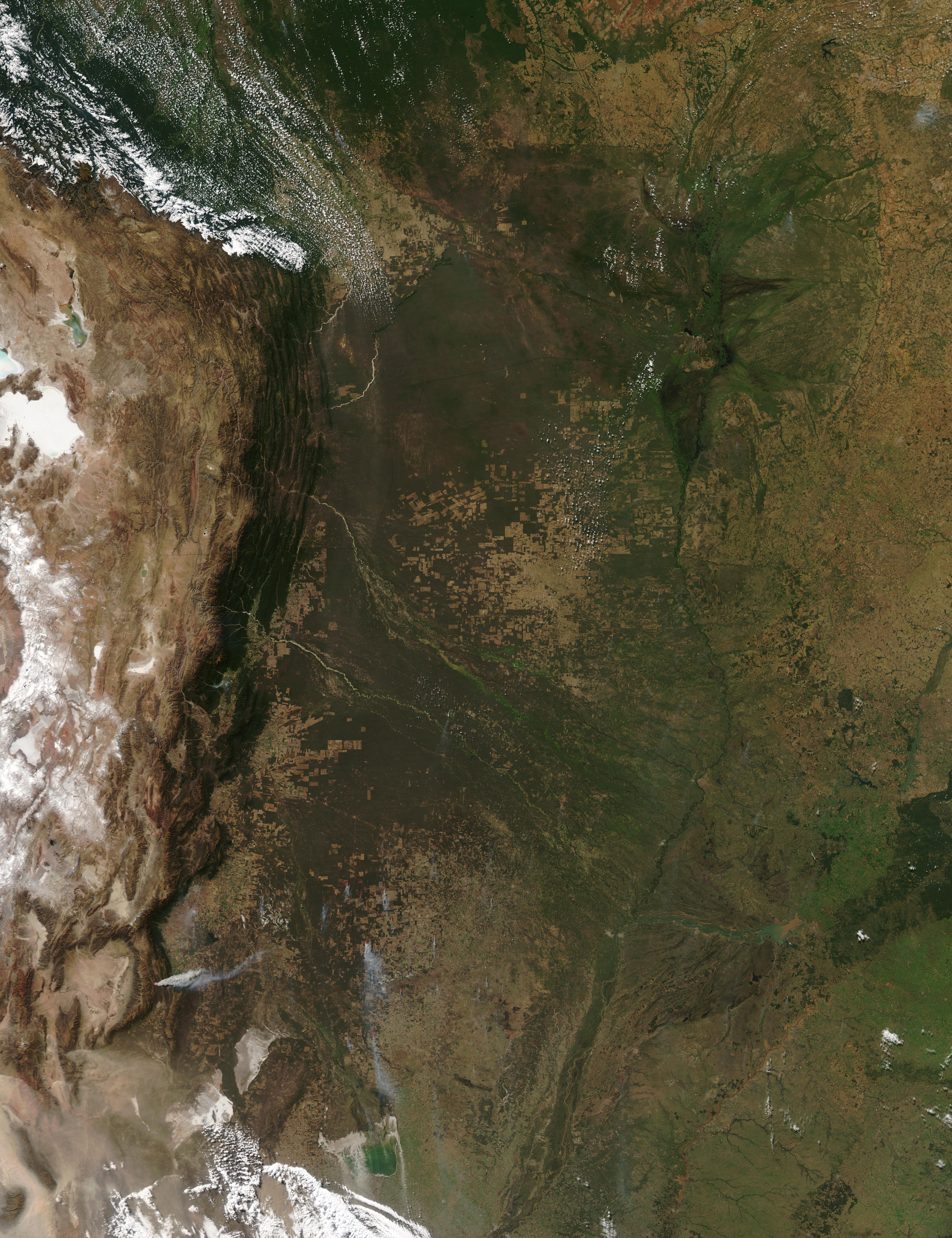 Incendios en el norte argentino