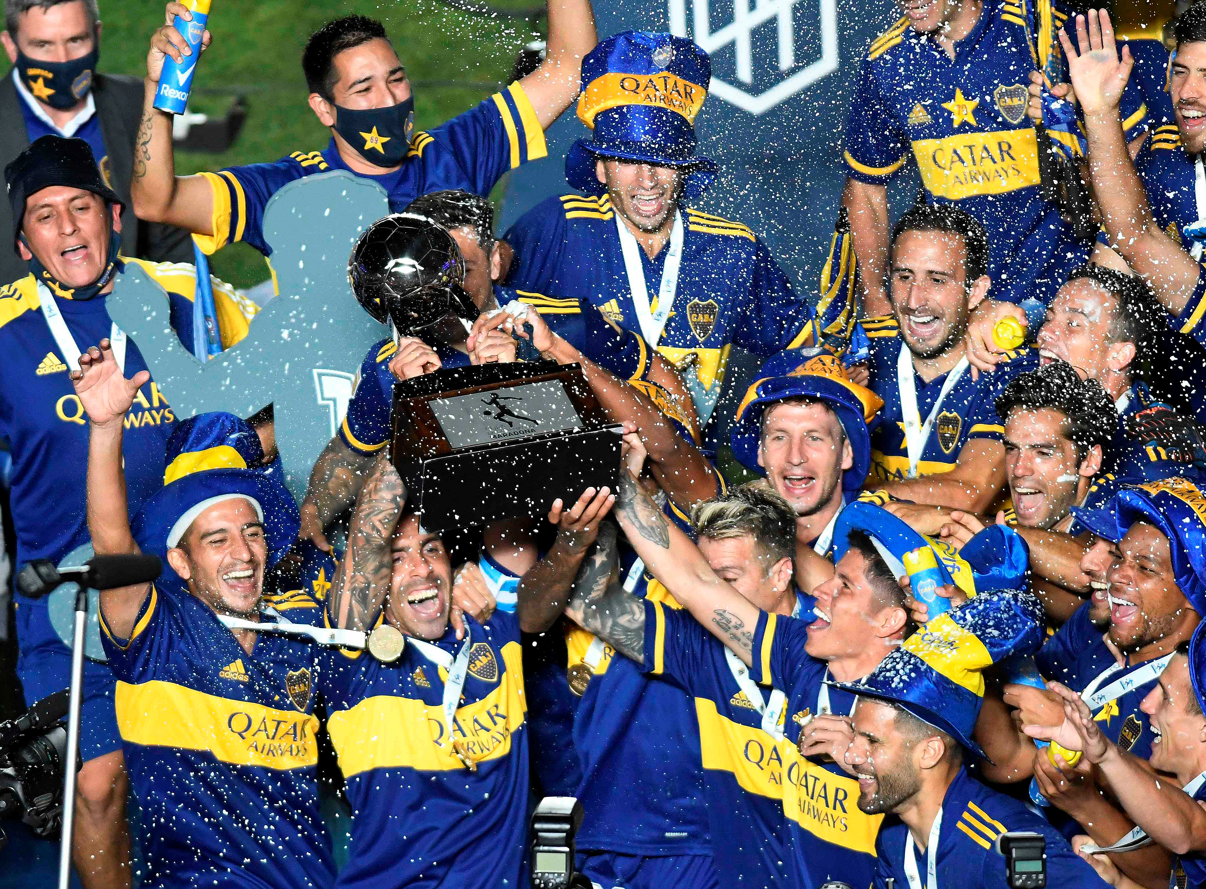 Boca superó a Banfield en los penales y se consagró campeón de la Copa Diego Armando Maradona