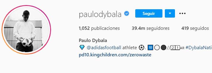 Paulo Dybala (Foto: Instagram)