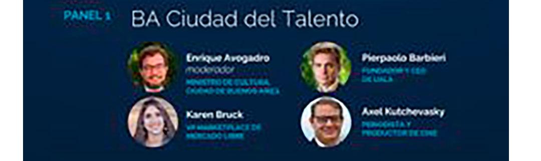 """""""BA ciudad del talento"""" será uno de los paneles que abordará sobre Estrategia de proyección internacional: Back to BA"""