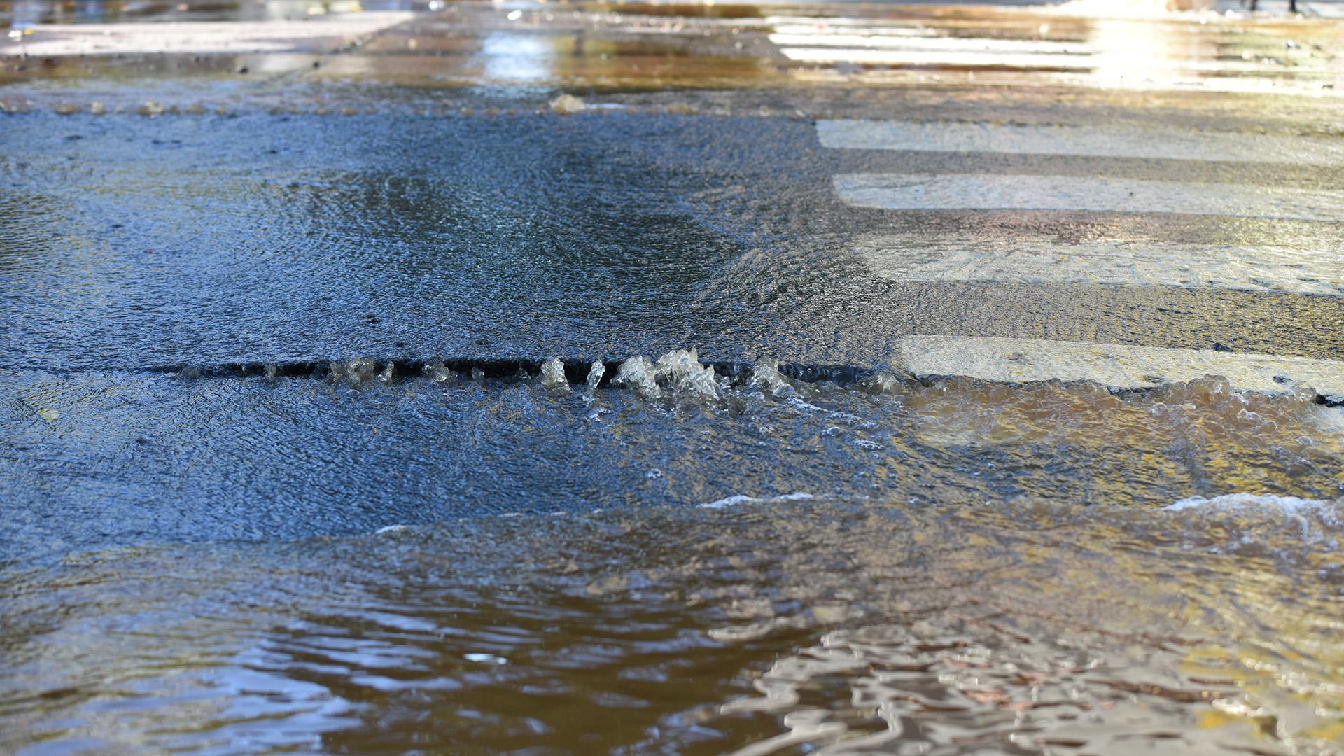 En redes sociales, muchos vecinos denunciaron que se encuentran sin agua desde hace varios días en Palermo