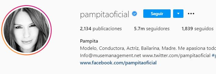 Pampita (Foto: Instagram)