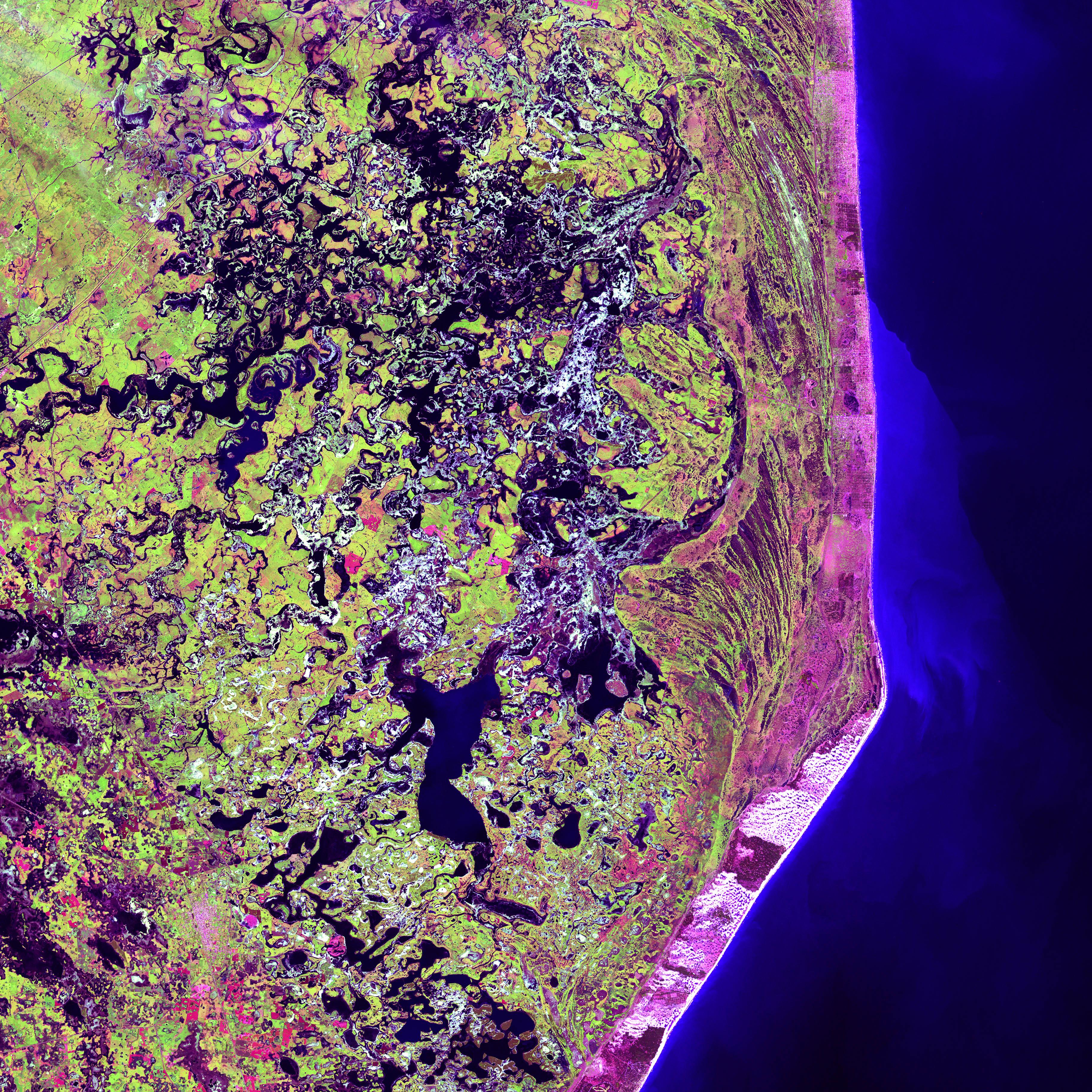 Delta del río Paraná en Argentina con una cámara especial