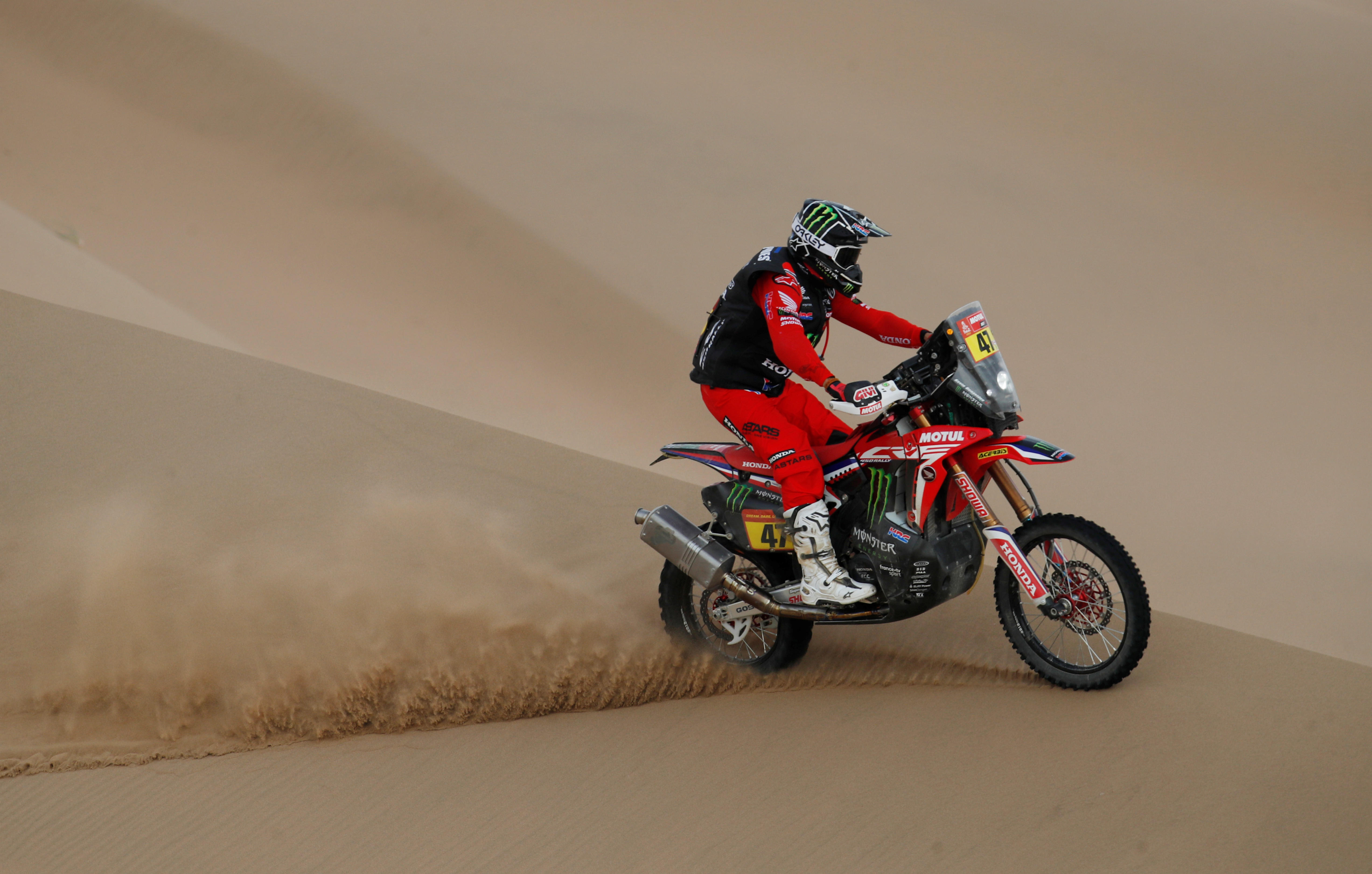 El campeón de 32 años debutó en el Rally Dakar en 2016