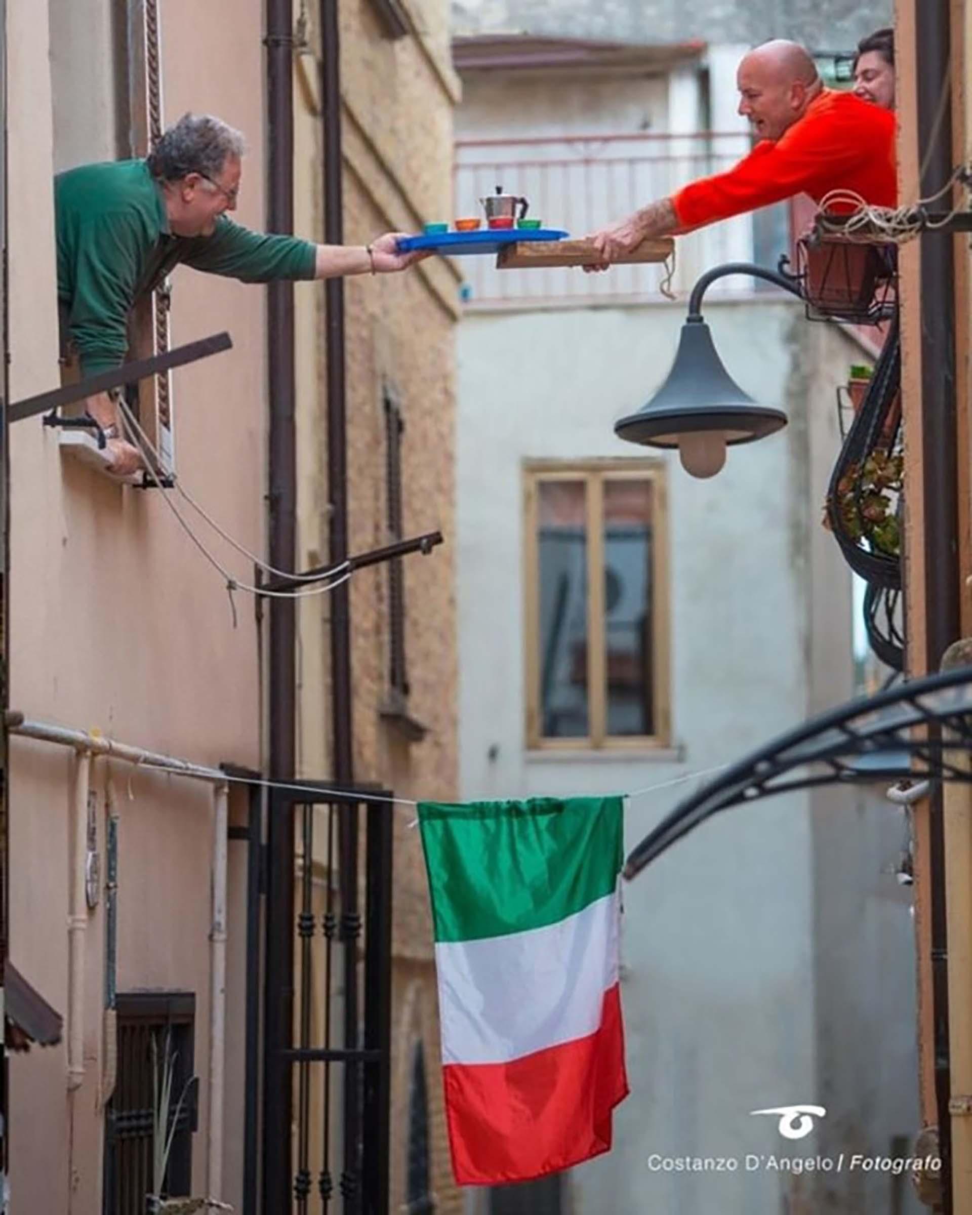 La cotidianidad en Italia, uno de los países afectados por el coronavirus.