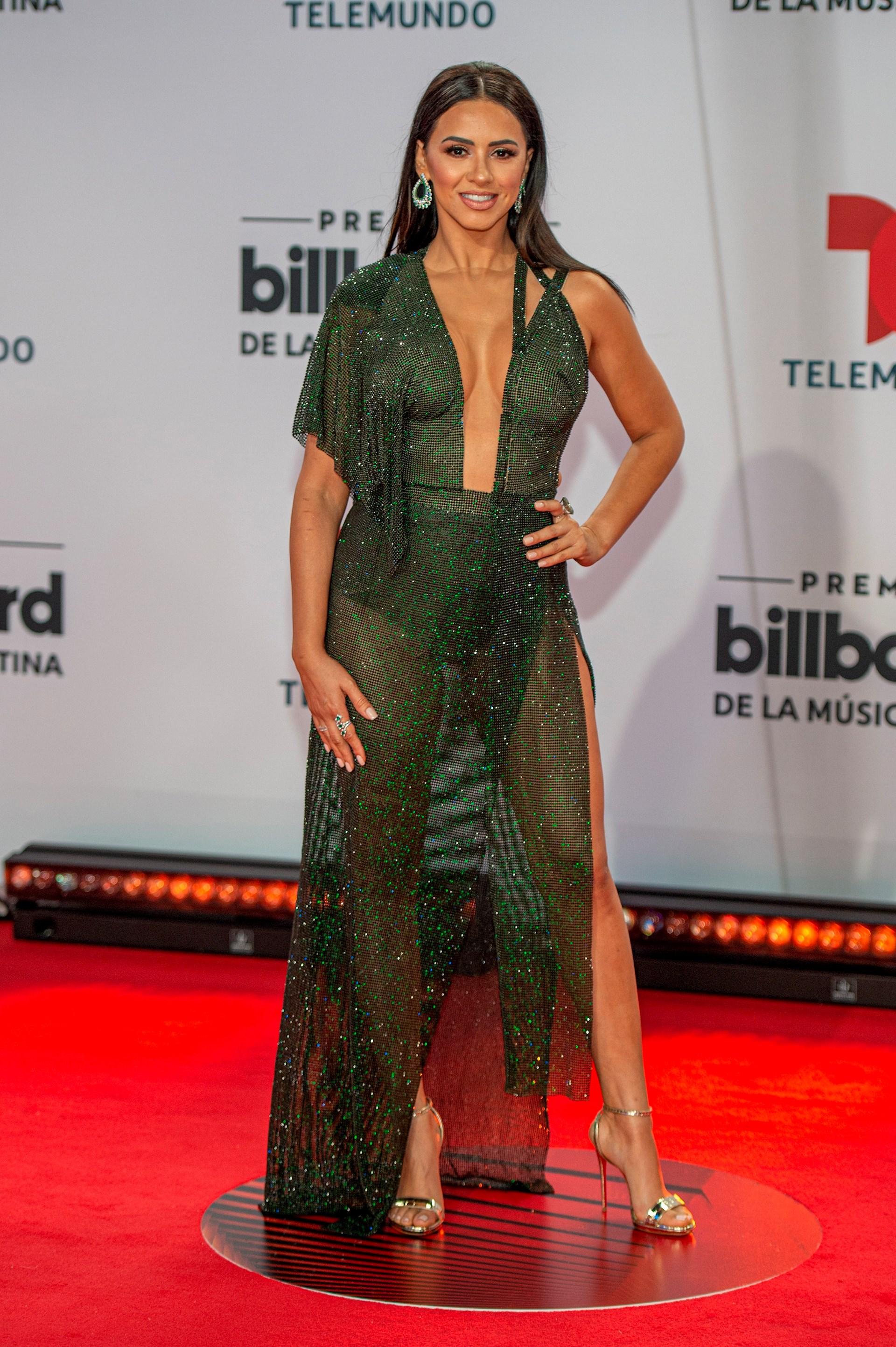 La presentadora hondureña Ana Jurka (Foto: EFE/Giorgio Viera)