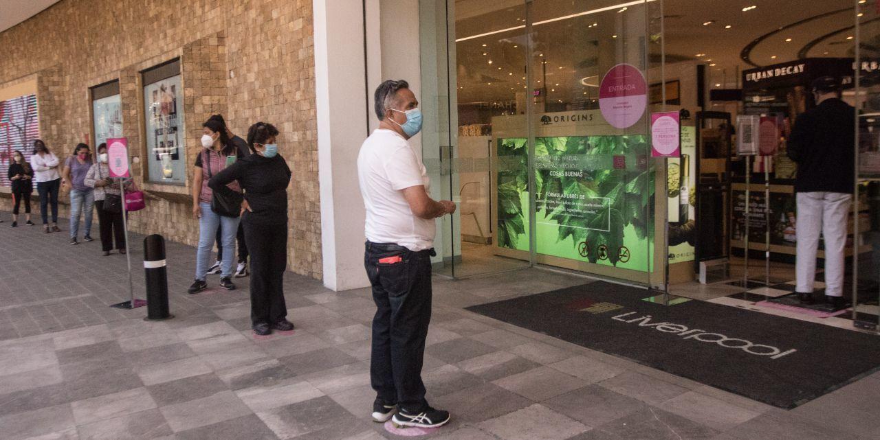 Tienda departamental en Polanco. Ciudad de México. 9 de febrero de 2021.