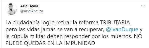 GVPQ7FLCFZGK5CIJDDD7VF2PXA - MinHacienda no estuvo en el anuncio del retiro de la reforma tributaria y en el marco del paro piden su renuncia