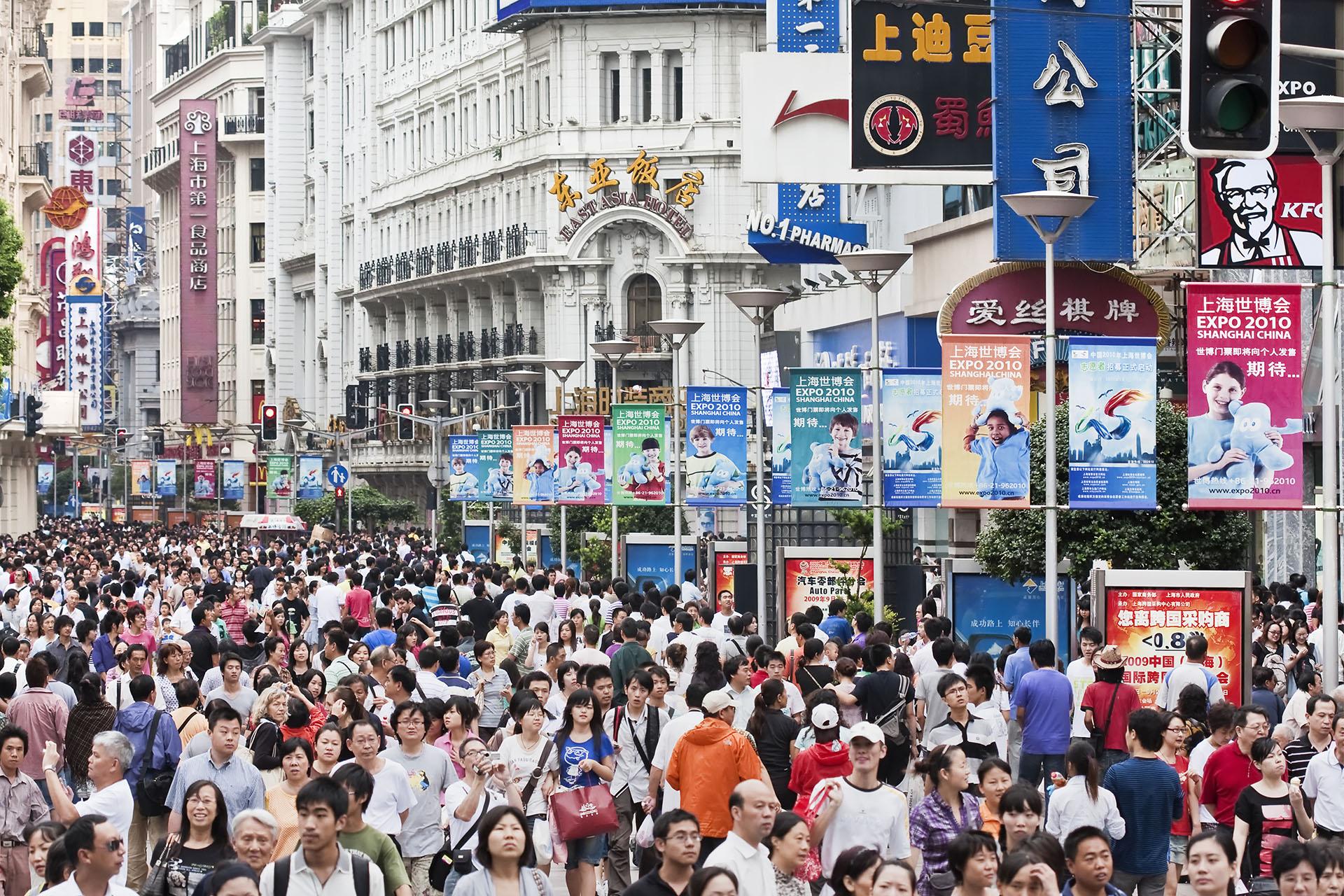 ANTES - Una postal de China antes del nuevo coronavirus (Shutterstock)