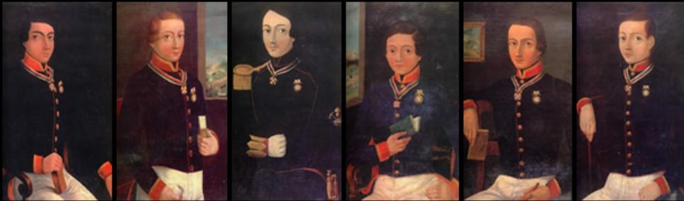 """Pese a que se presume que seis """"niños héroes"""" defendieron el castillo con su vida, el salto al vacío de Juan Escutia envuelto en la bandera de México no fue real (Foto: INAH)"""