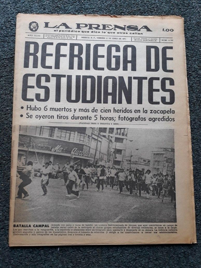 """A 49 años del """"Halconazo"""": la matanza de estudiantes que marcó al gobierno  de Luis Echeverría - Infobae"""