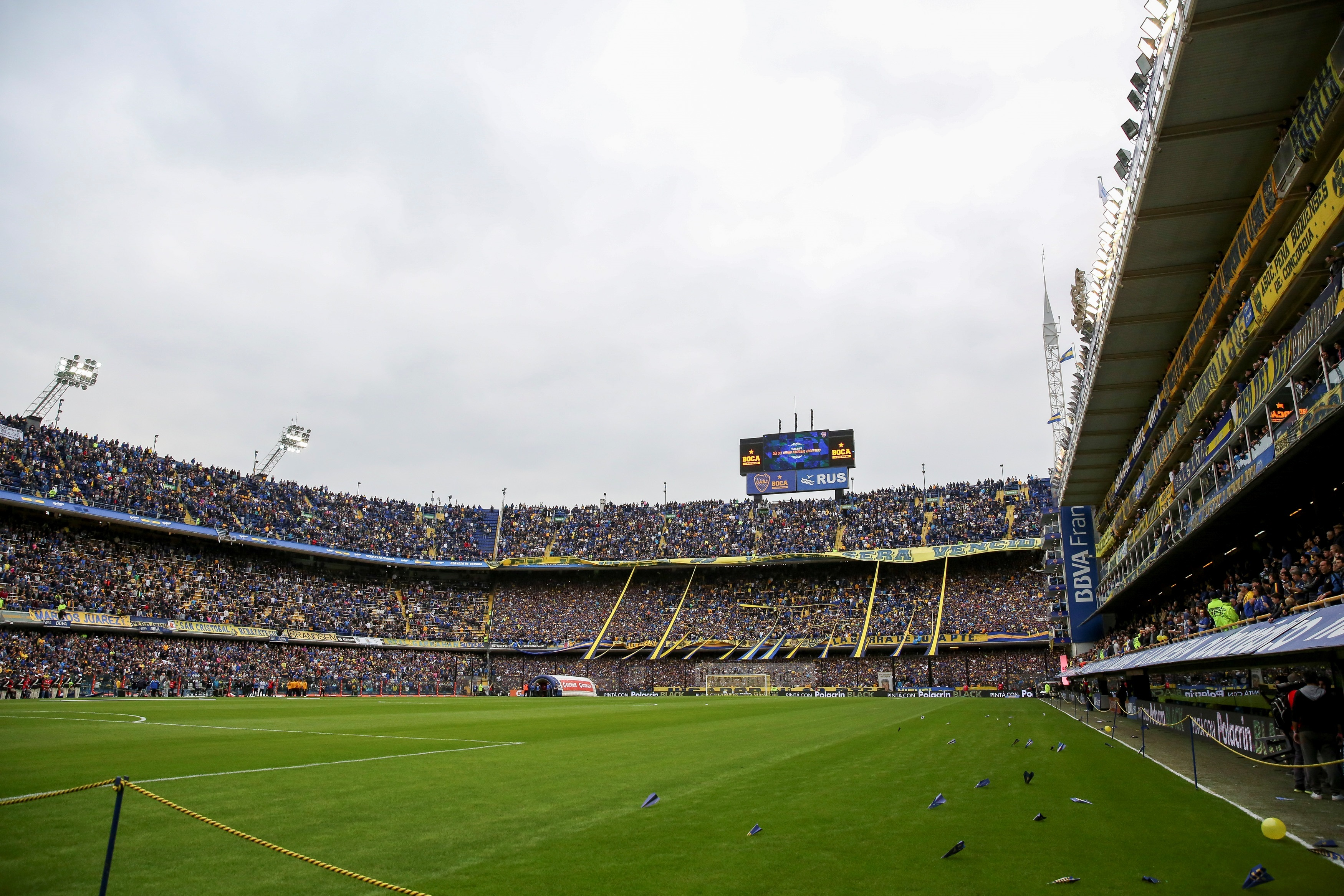 PUESTO 9 - 139 PARTIDOS / Estadio La Bombonera de la ciudad de Buenos Aires, Argentina (EFE/David Fernández/Archivo)