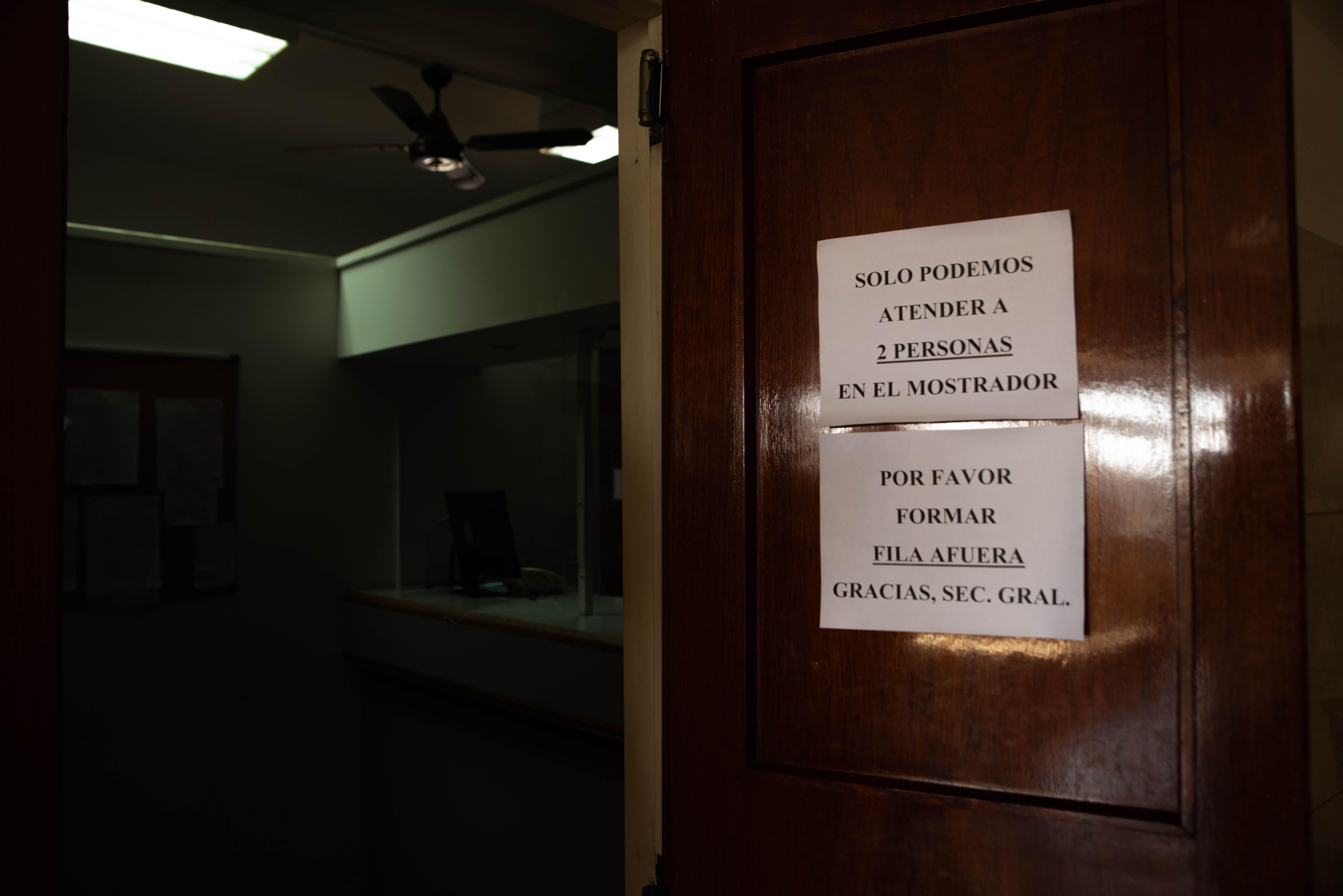 Secretaría general de la Cámara Federal. Comodoro Py. Segundo piso.