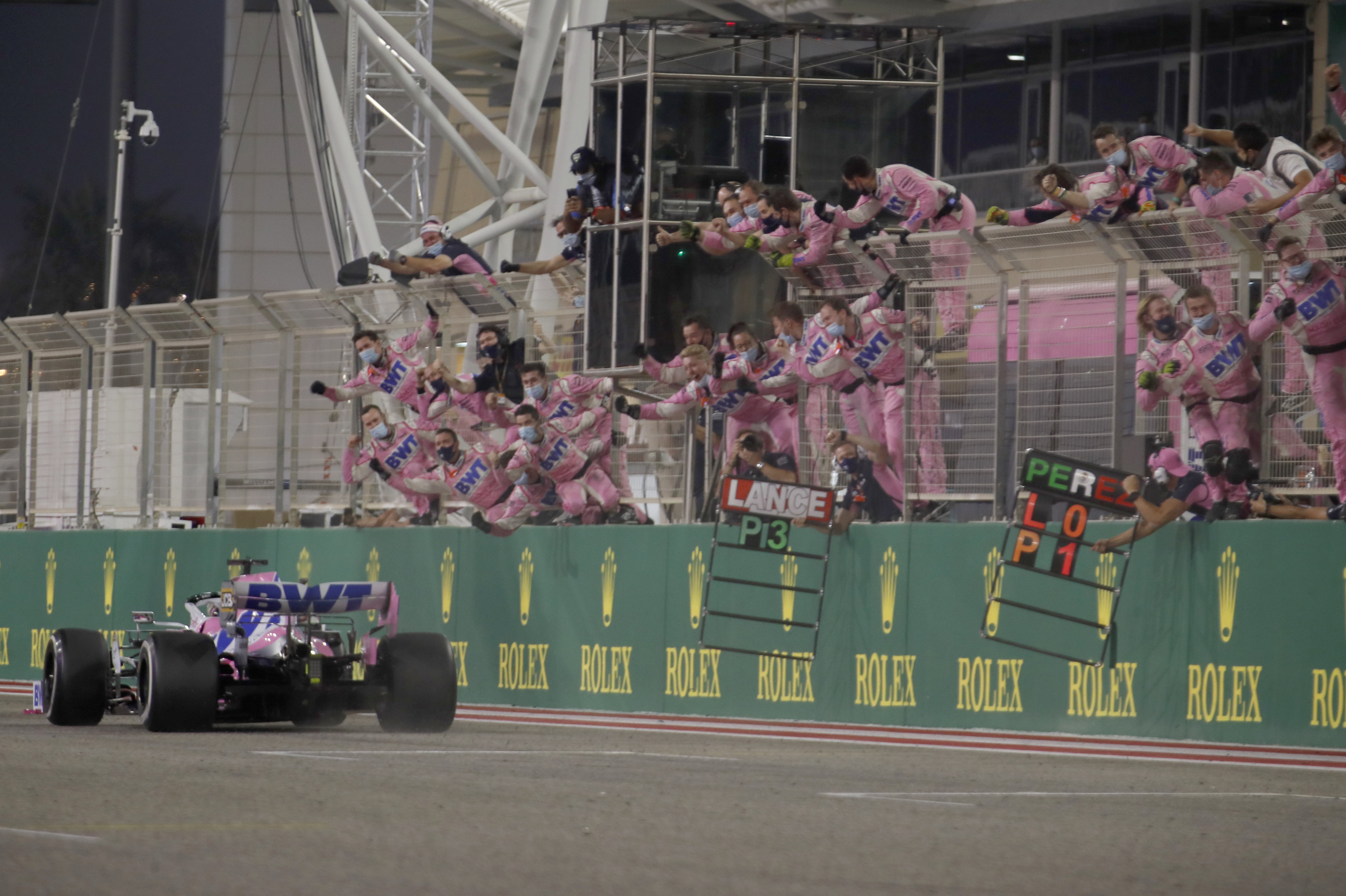 Gran Premio de Fórmula 1 de Sakhir, Baréin el domingo 6 de diciembre de 2020.