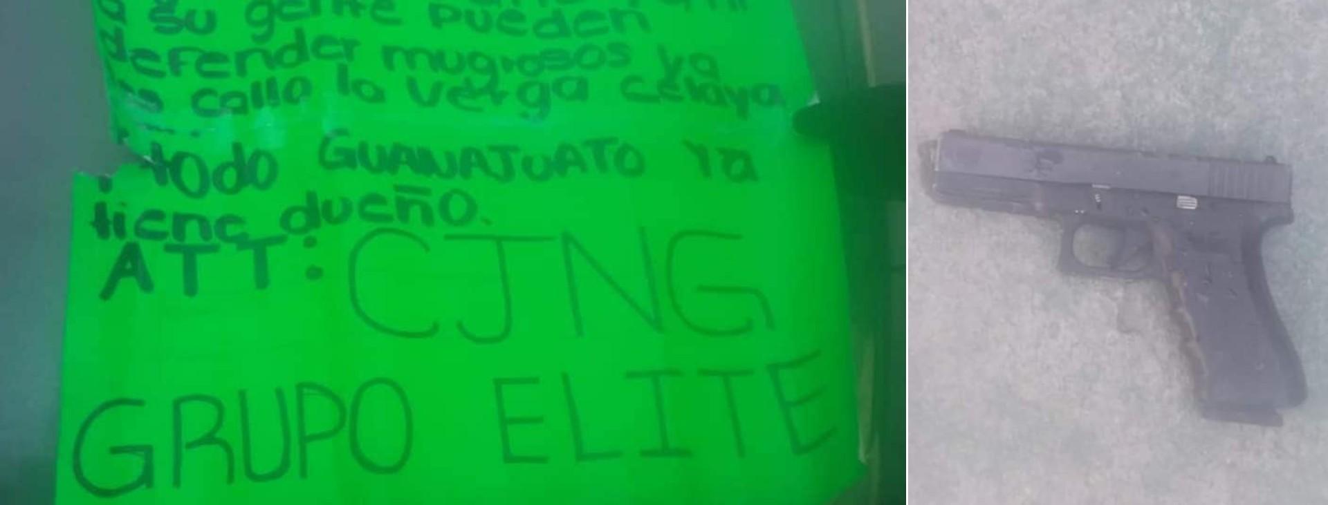 El Grupo Élite del CJNG se ha adjudicado los últimos ataques en el estado de Guanajuato (Foto: Especial)
