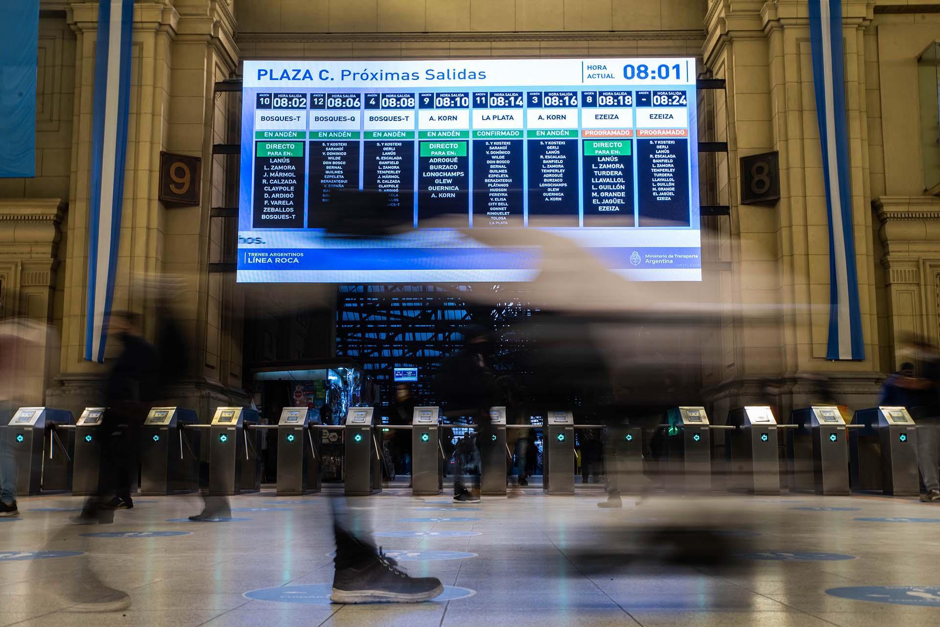 Durante gran parte de 2020, el transporte público de pasajeros se destinó únicamente para los trabajadores esenciales