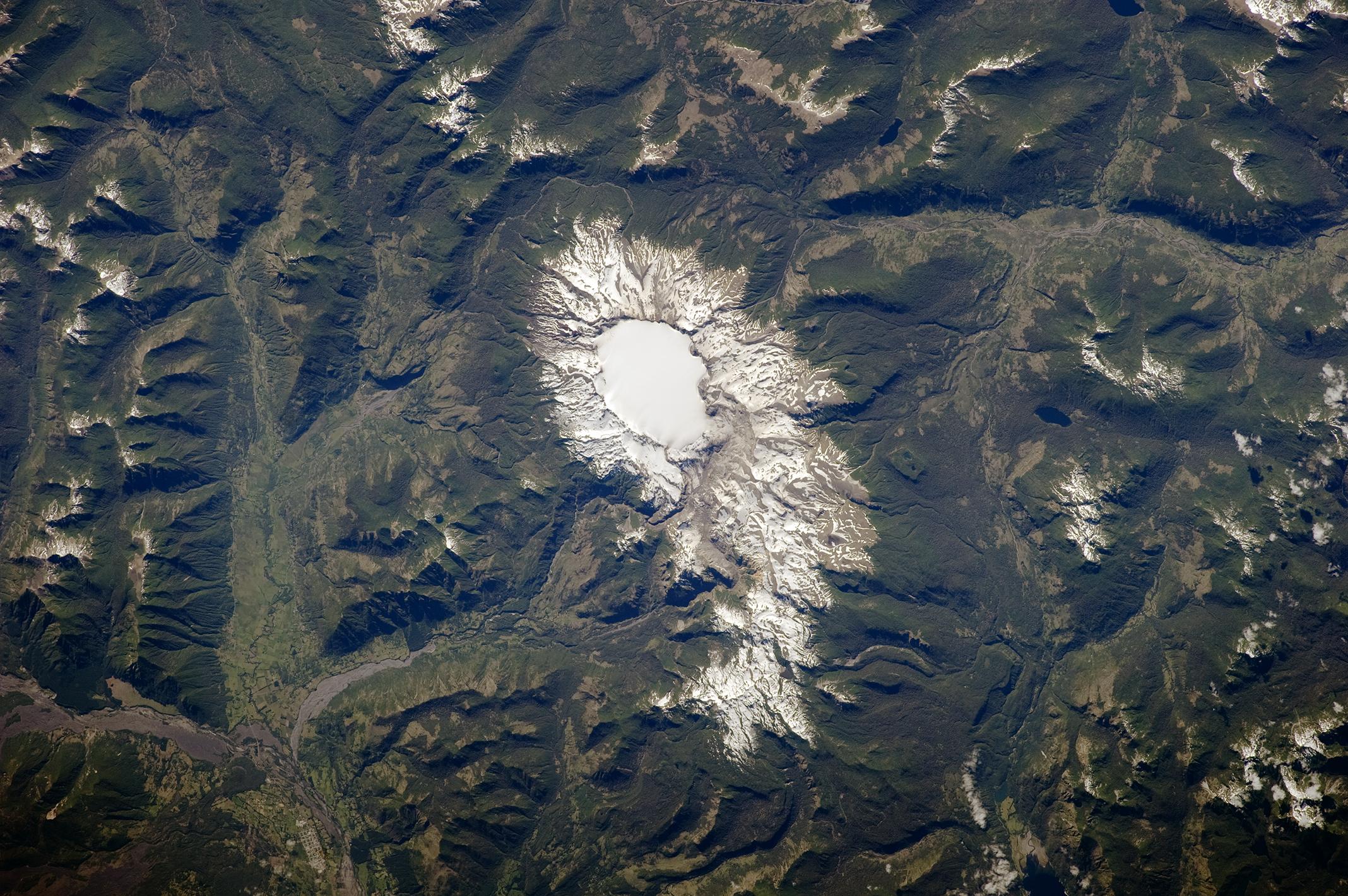 Caldera Sollipulli, Chile y Argentina