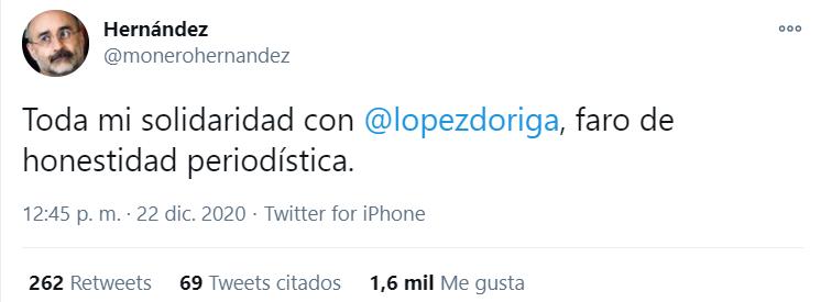 (Foto: Twitter @monerohernandez)