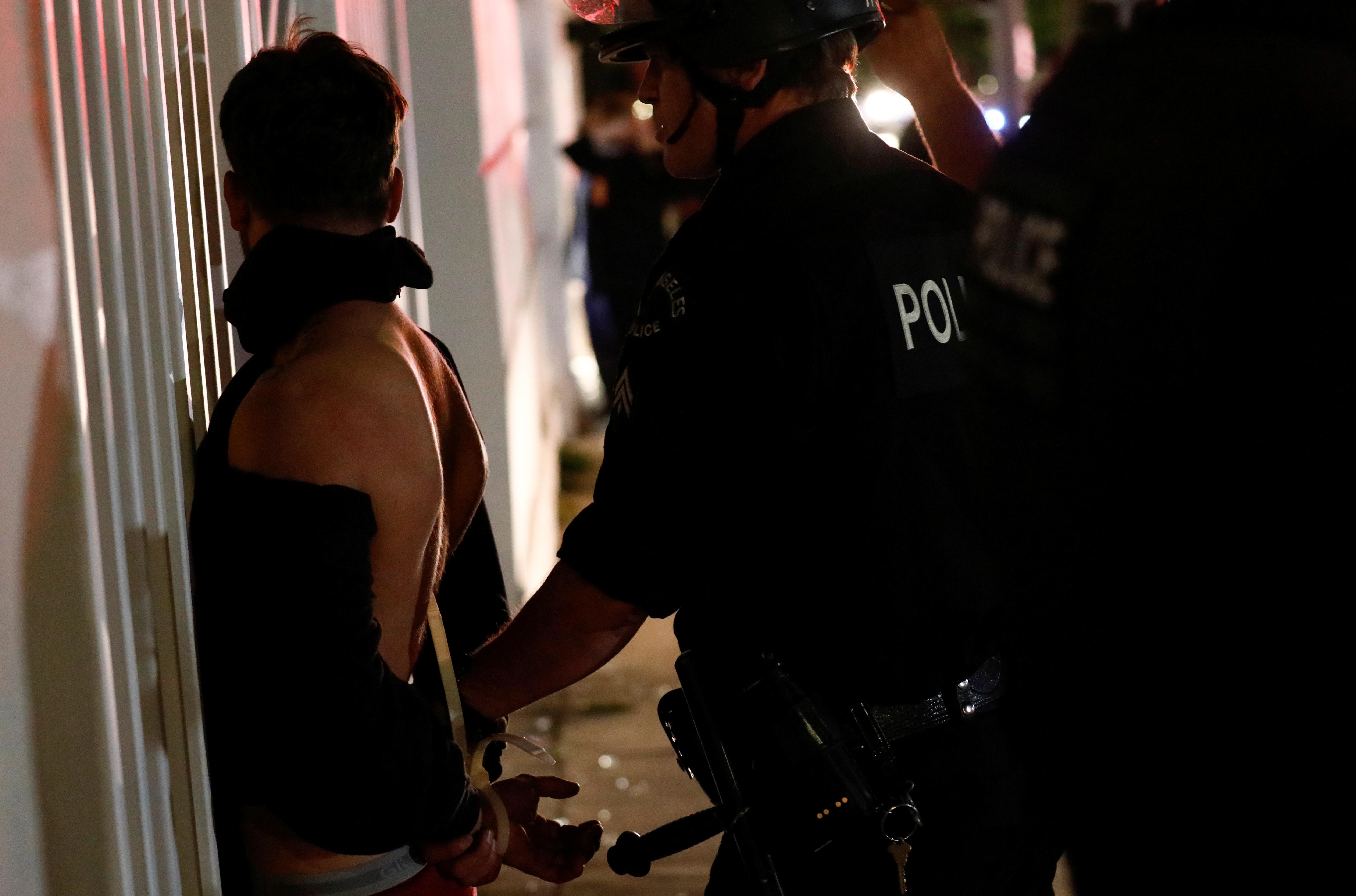 Arresto en Los Angeles, California